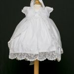 Christening Dress with Cape and Bonnet