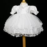 Couche Tot Christening Dress with Hairband