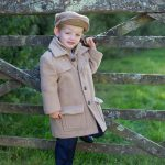 Boys coat and matching cap by Couche Tot