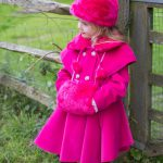 coat with matching hat and muff code CT1059
