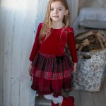 CT1088 red dress